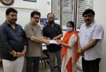 The family of the technician who died from Corona got financial help of 11 lakhs on the initiative of FWICE